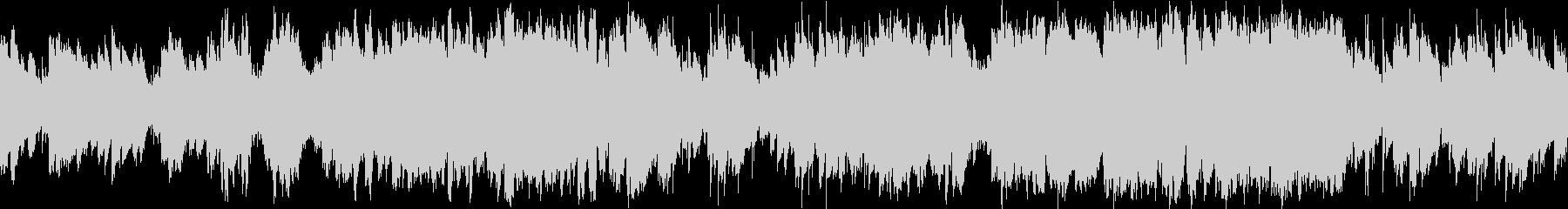 バイオリン・疾走感のある民族調・ループ版の未再生の波形