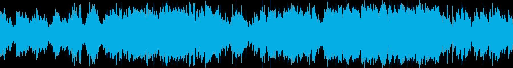 バイオリン・疾走感のある民族調・ループ版の再生済みの波形