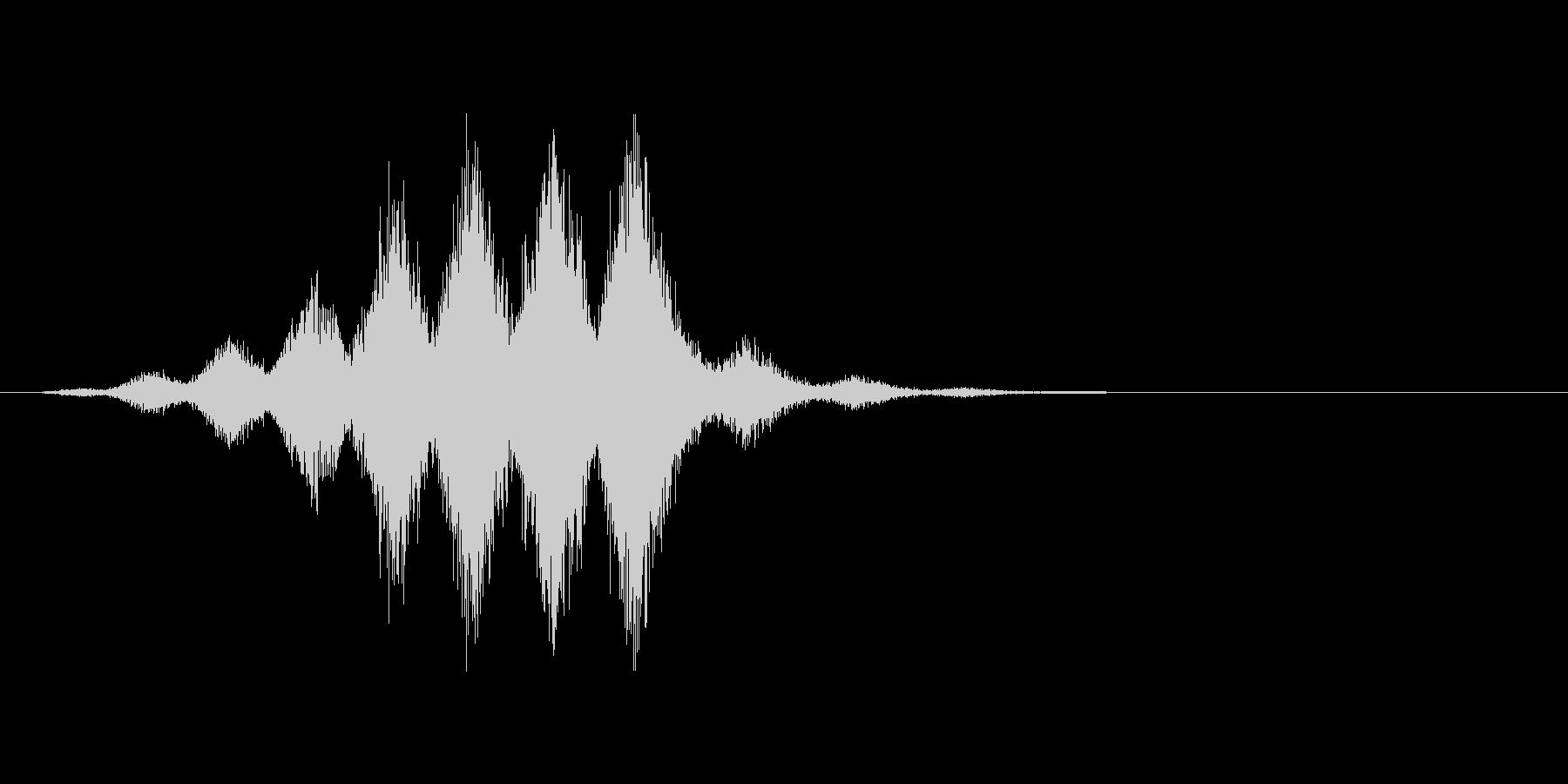 チャージ音。軽め。の未再生の波形