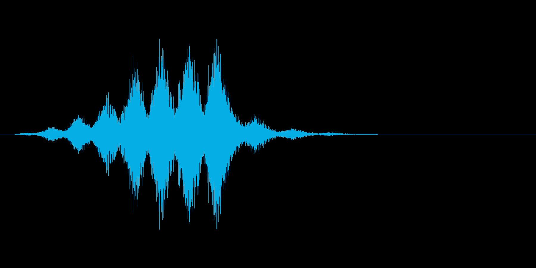 チャージ音。軽め。の再生済みの波形