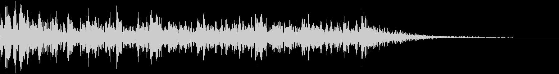 ティンパニロールの未再生の波形