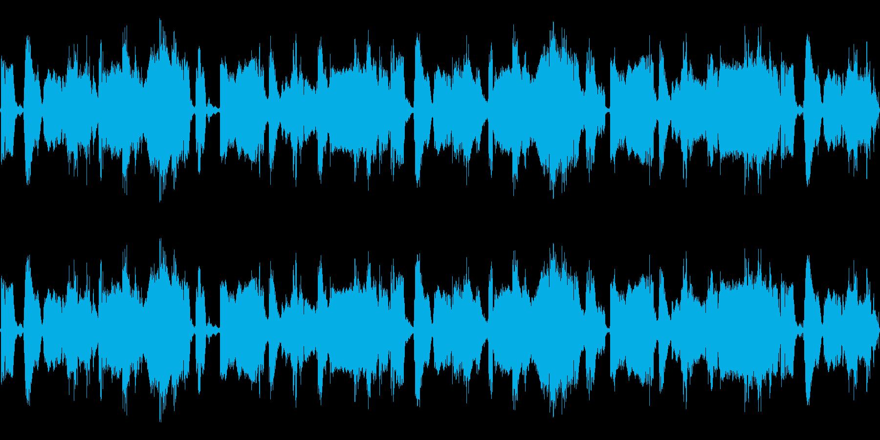 ゲーム向けのTRACKですの再生済みの波形