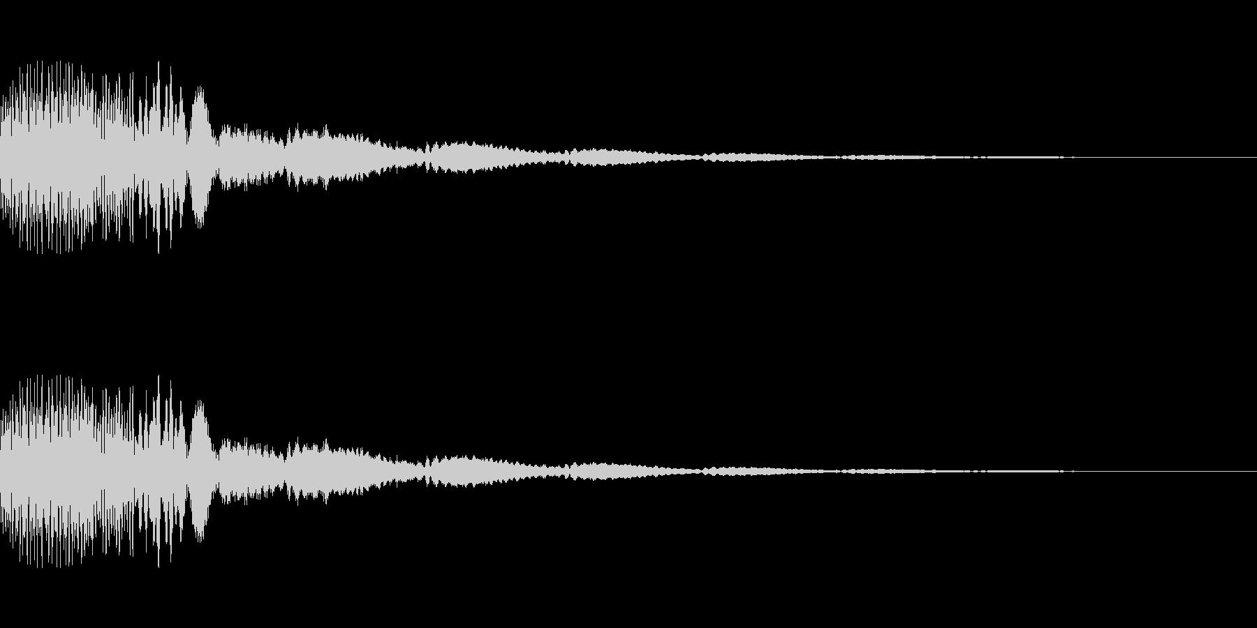 [ポロロン]ミス(可愛く柔かい)の未再生の波形