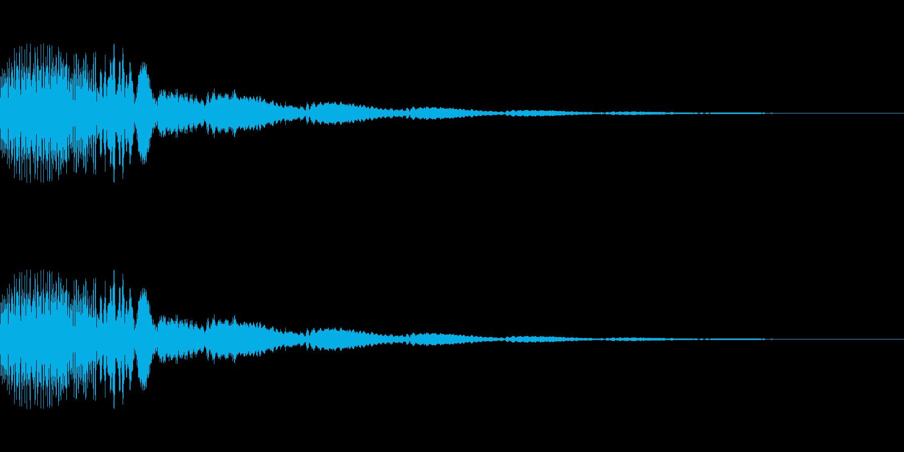 [ポロロン]ミス(可愛く柔かい)の再生済みの波形
