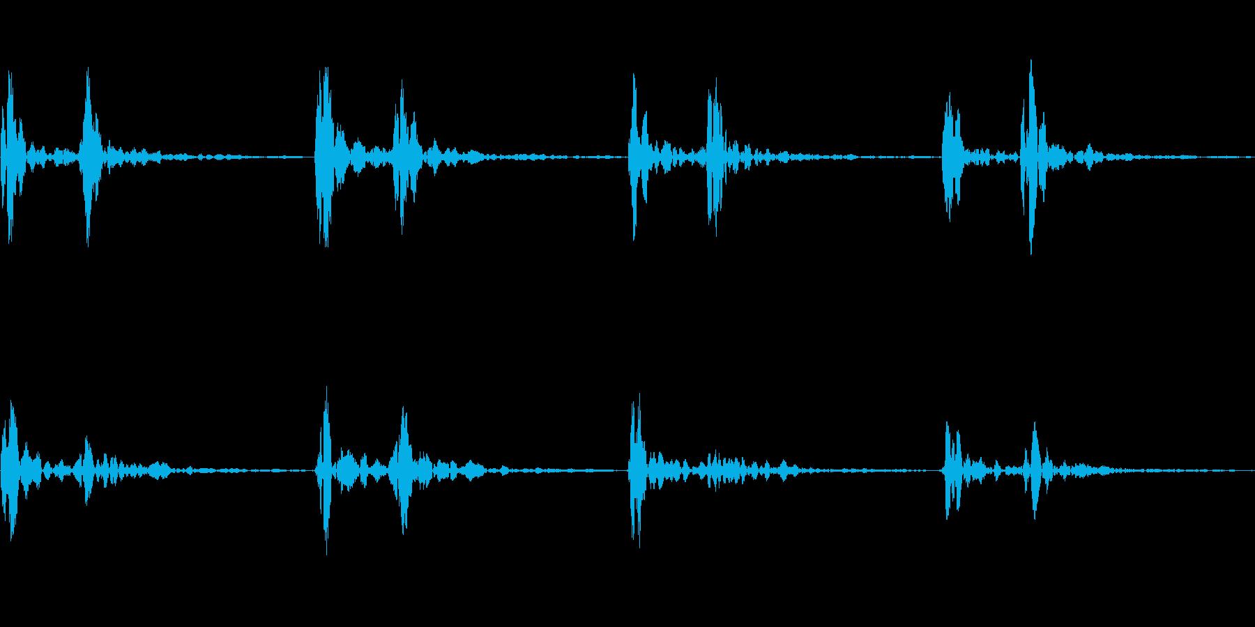 心臓の鼓動_その3の再生済みの波形