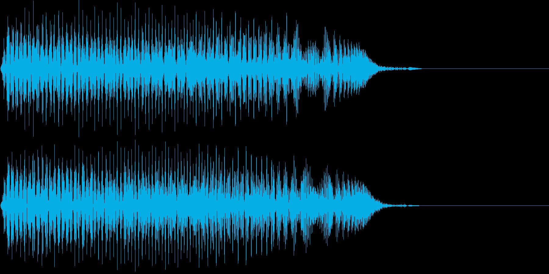 [効果音]ジャンプ、アイテム入手の再生済みの波形