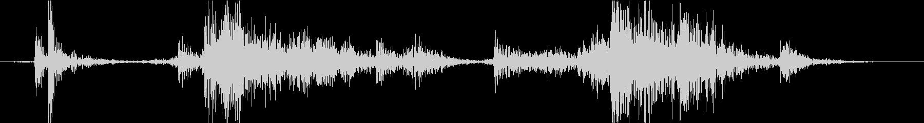 Material 道具箱の音 DIYの未再生の波形