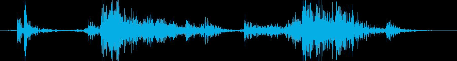 Material 道具箱の音 DIYの再生済みの波形