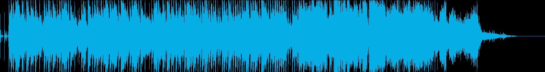 琴や笛を使用した穏やかな曲です。の再生済みの波形