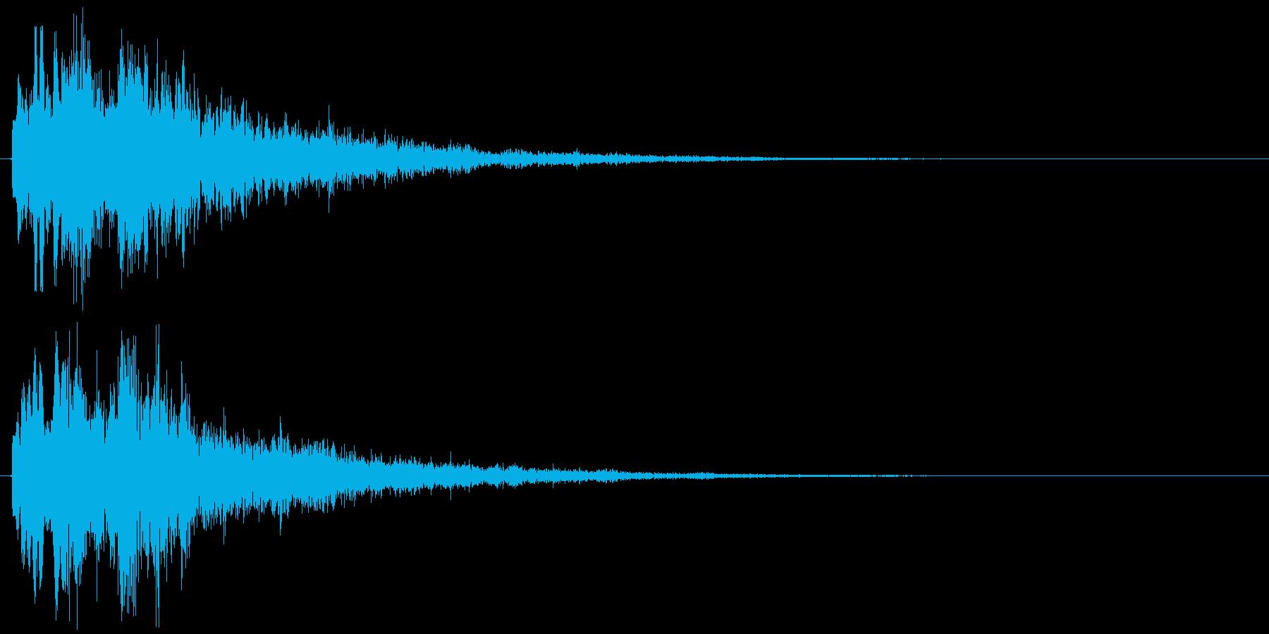 サウンドロゴに使えると思いますの再生済みの波形