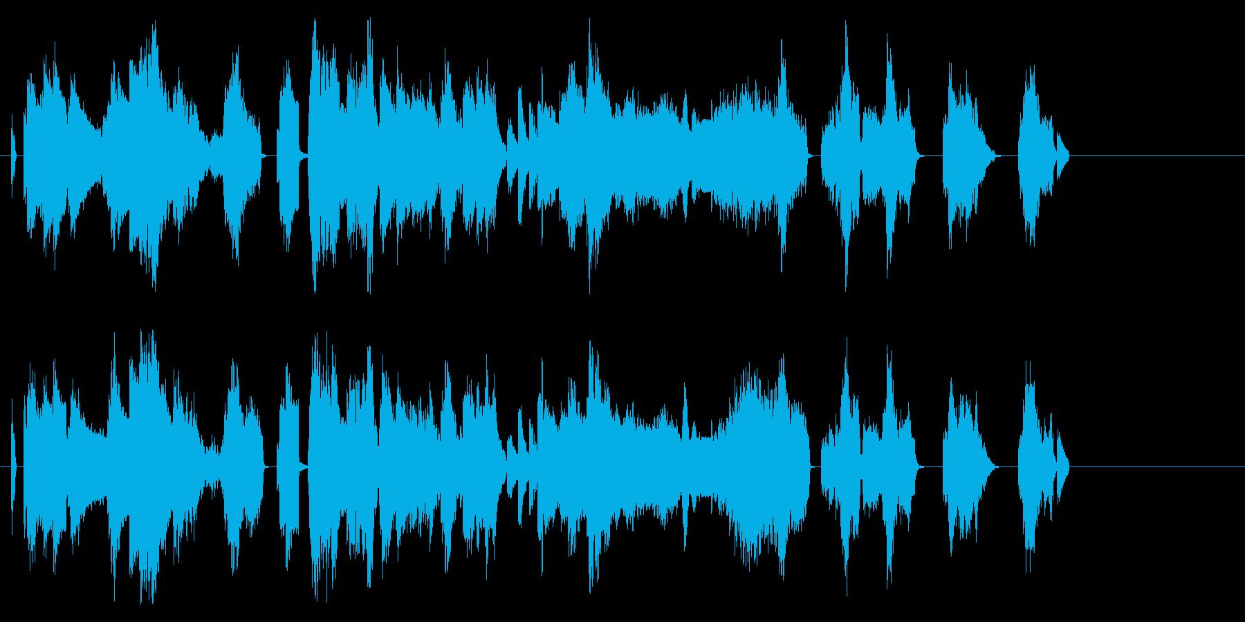 工場、工事っぽい機械音の再生済みの波形
