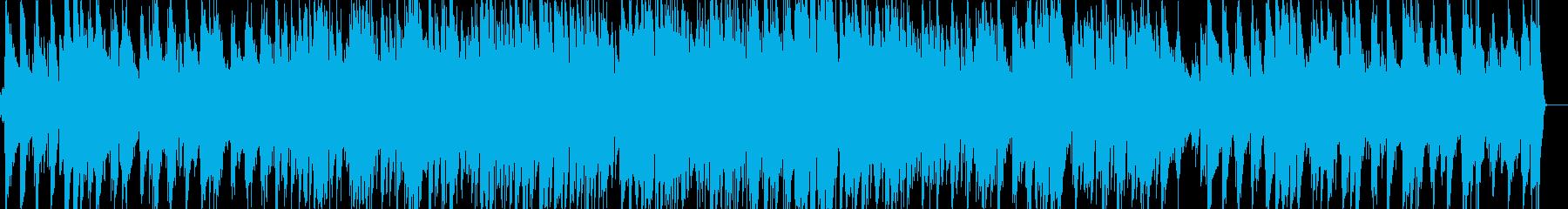 ベートーベンのジャズピアノの再生済みの波形