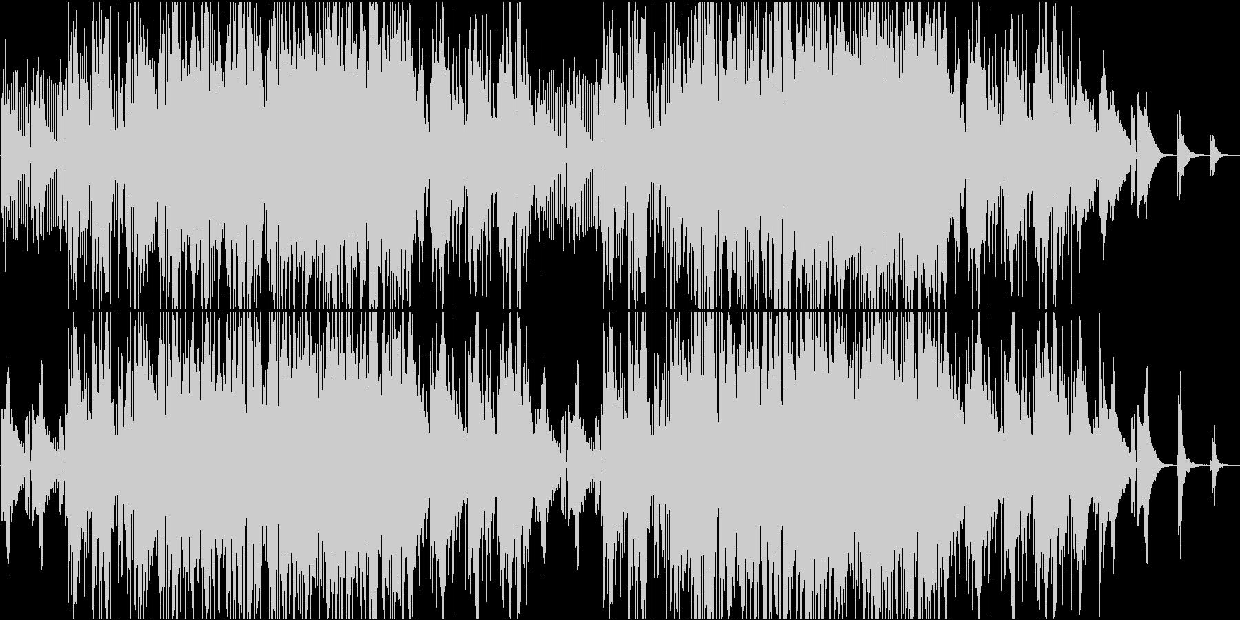 Jazz系静かなイージーリスニング。の未再生の波形