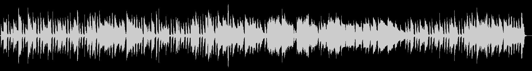 シンプルな編成のファンタジーな楽曲ですの未再生の波形