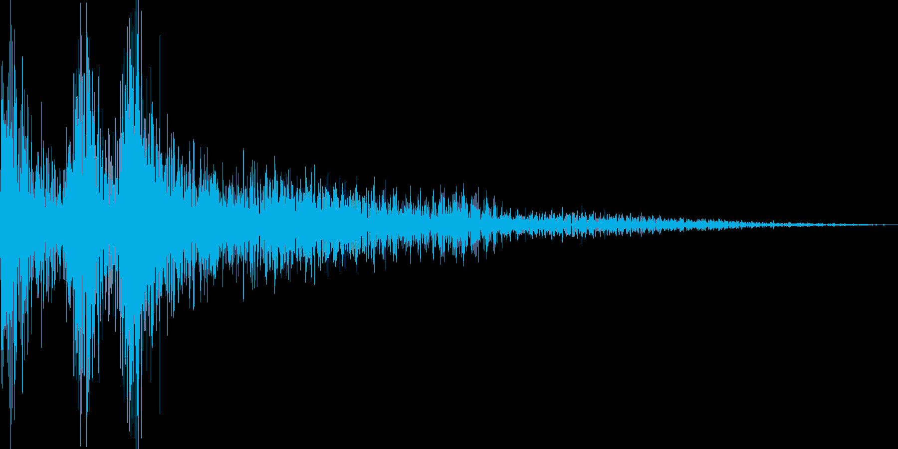ジャジャン(三味線、三線、琵琶)の再生済みの波形