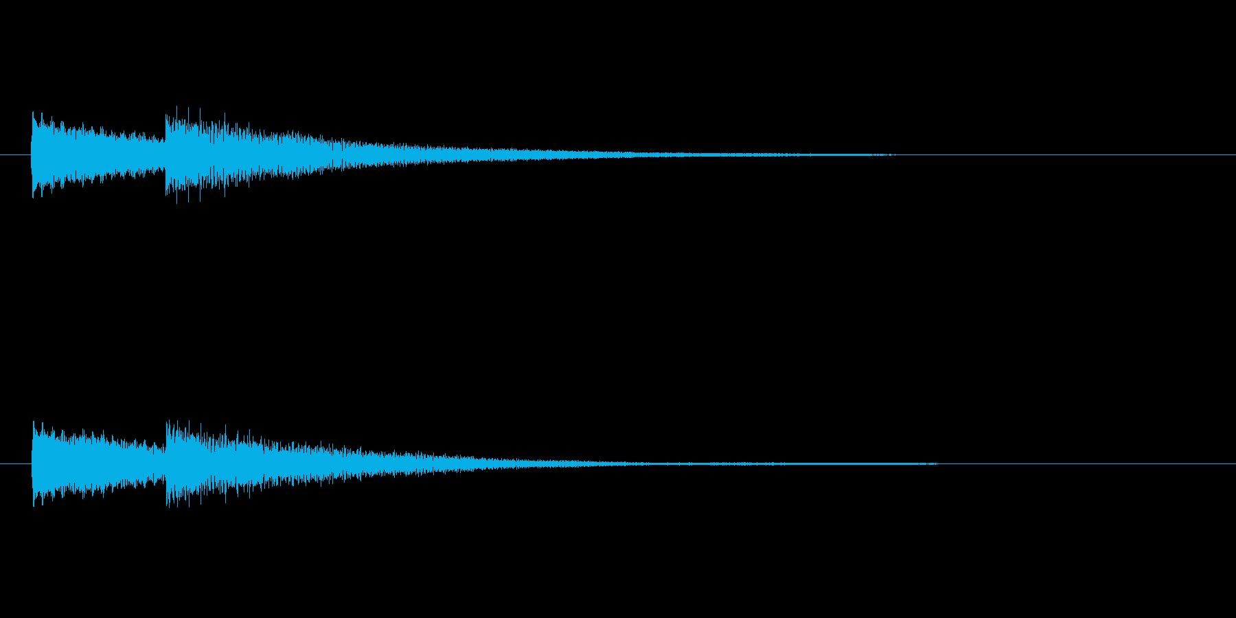 「ピンポン (玄関チャイム)」の再生済みの波形