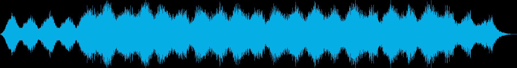 瞑想・ヒーリング的なクワイアの静かな曲2の再生済みの波形