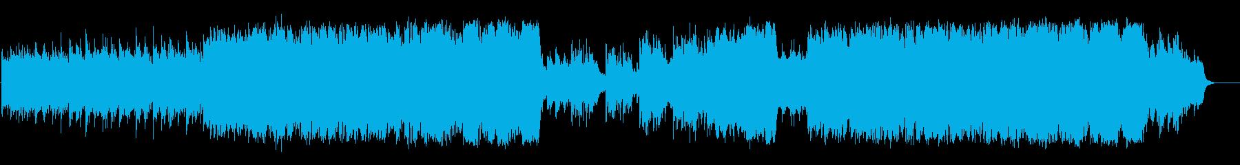 和風中華味のミクスチャー・サウンドの再生済みの波形