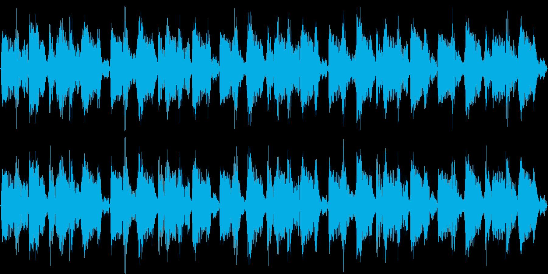 DJの方の素材にも使えるBGM曲です。の再生済みの波形