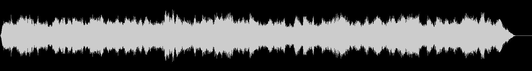 展開のあるオーケストラBGMの未再生の波形