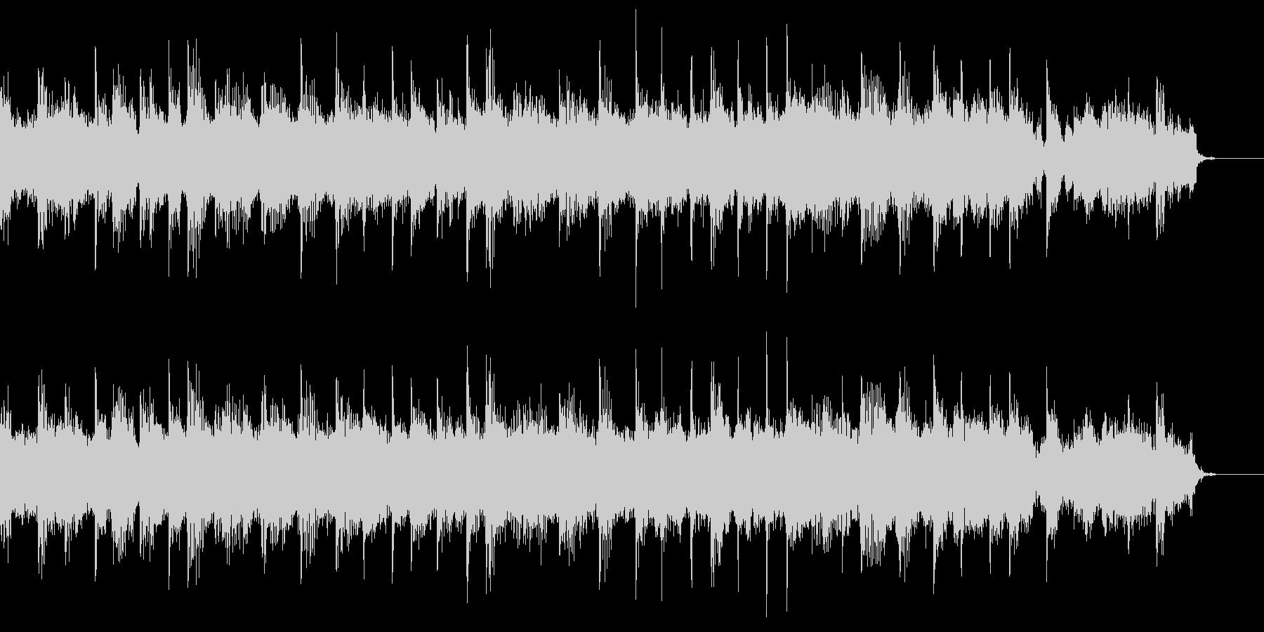 ロックペーストのBGMの未再生の波形