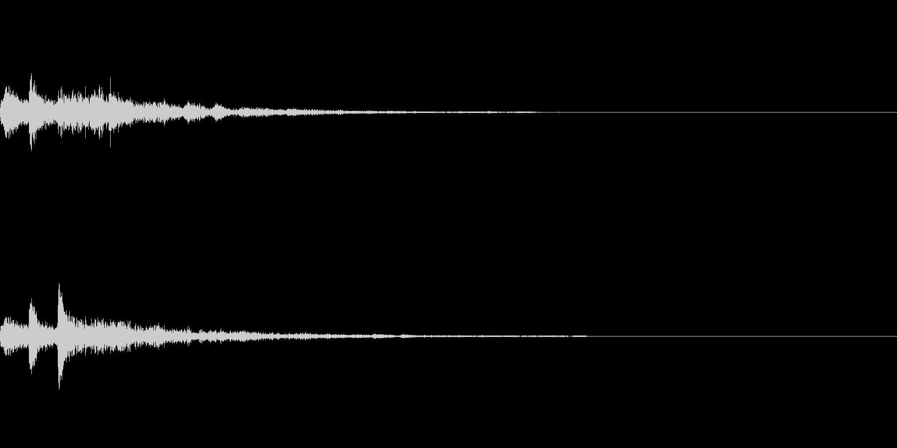 ぽろん♪(連鎖07)の未再生の波形