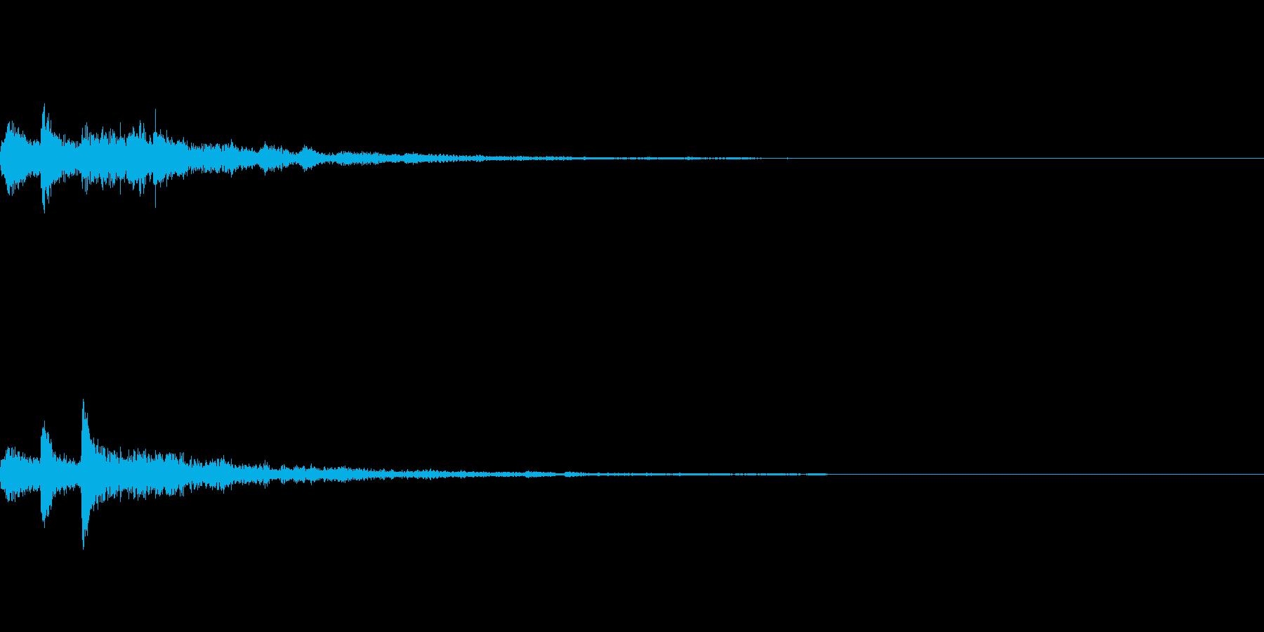 ぽろん♪(連鎖07)の再生済みの波形