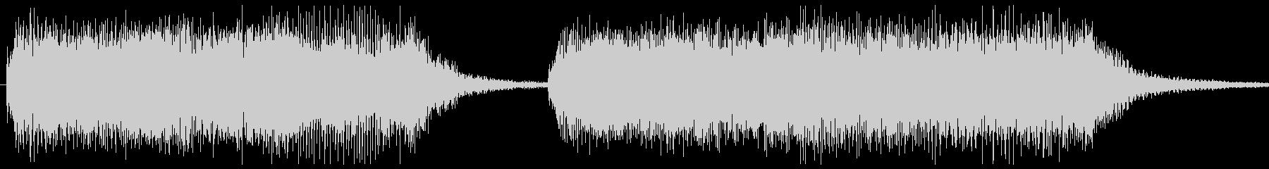 勝利画面BGM 場面切り替え等の未再生の波形