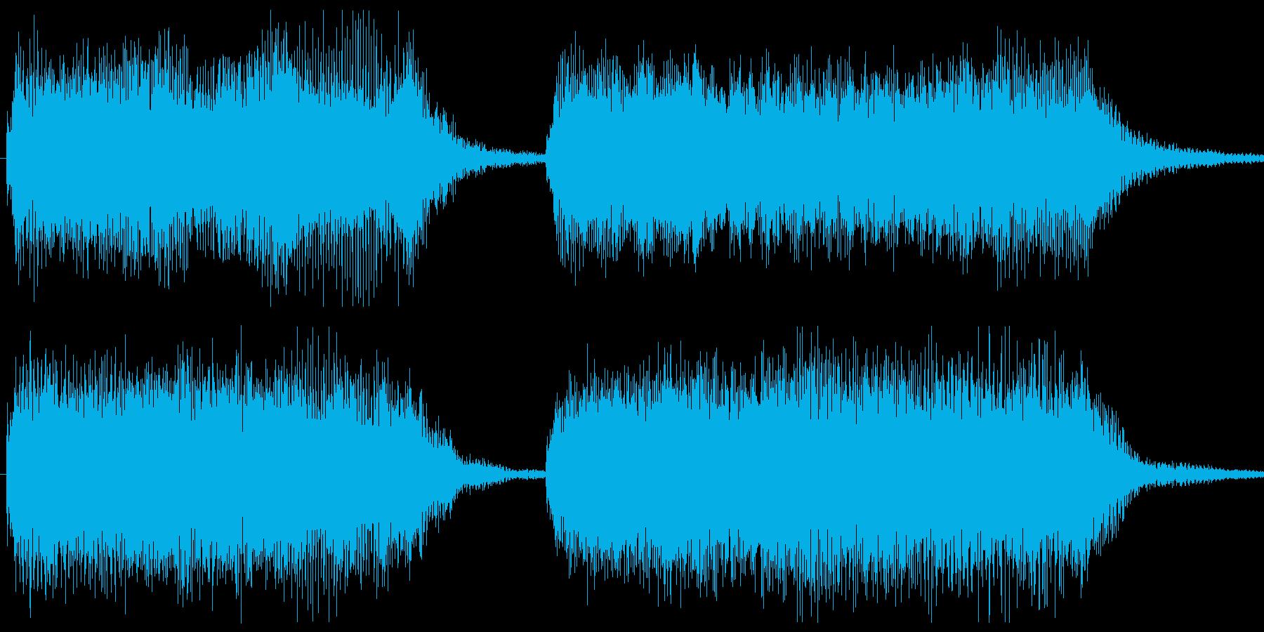 勝利画面BGM 場面切り替え等の再生済みの波形