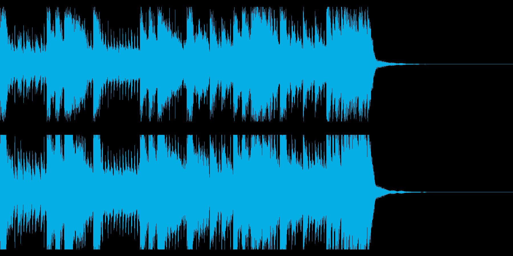 さわやかなプログレッシヴロック風ポップの再生済みの波形