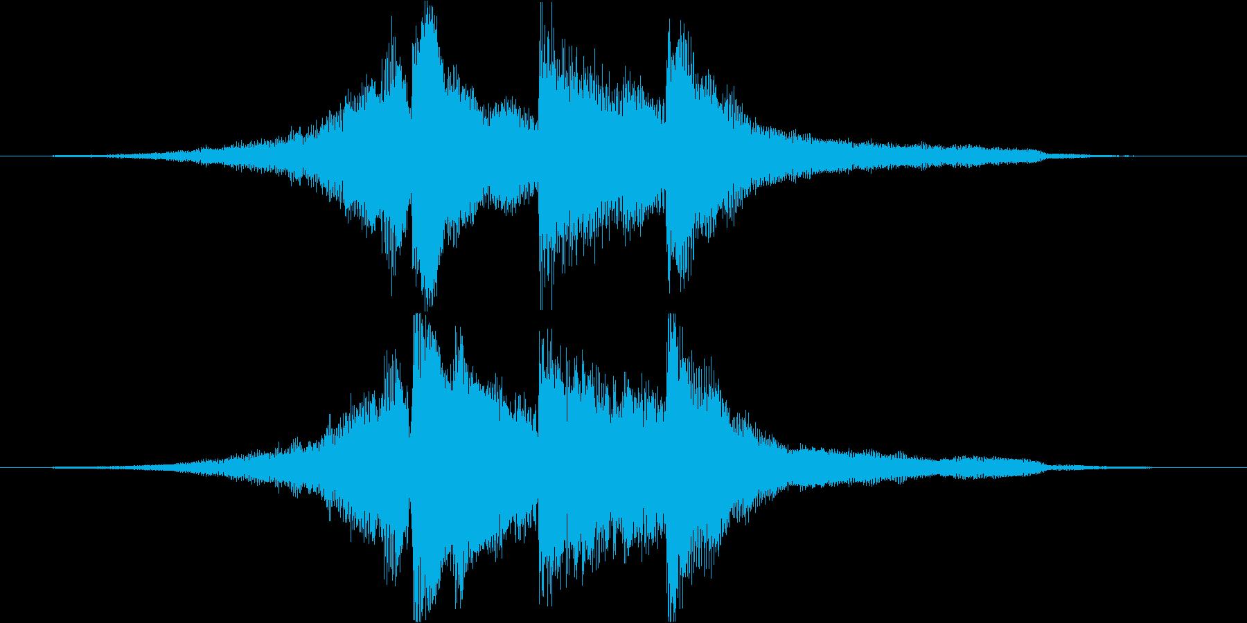 アコギとピアノで奏でるジングル#4の再生済みの波形