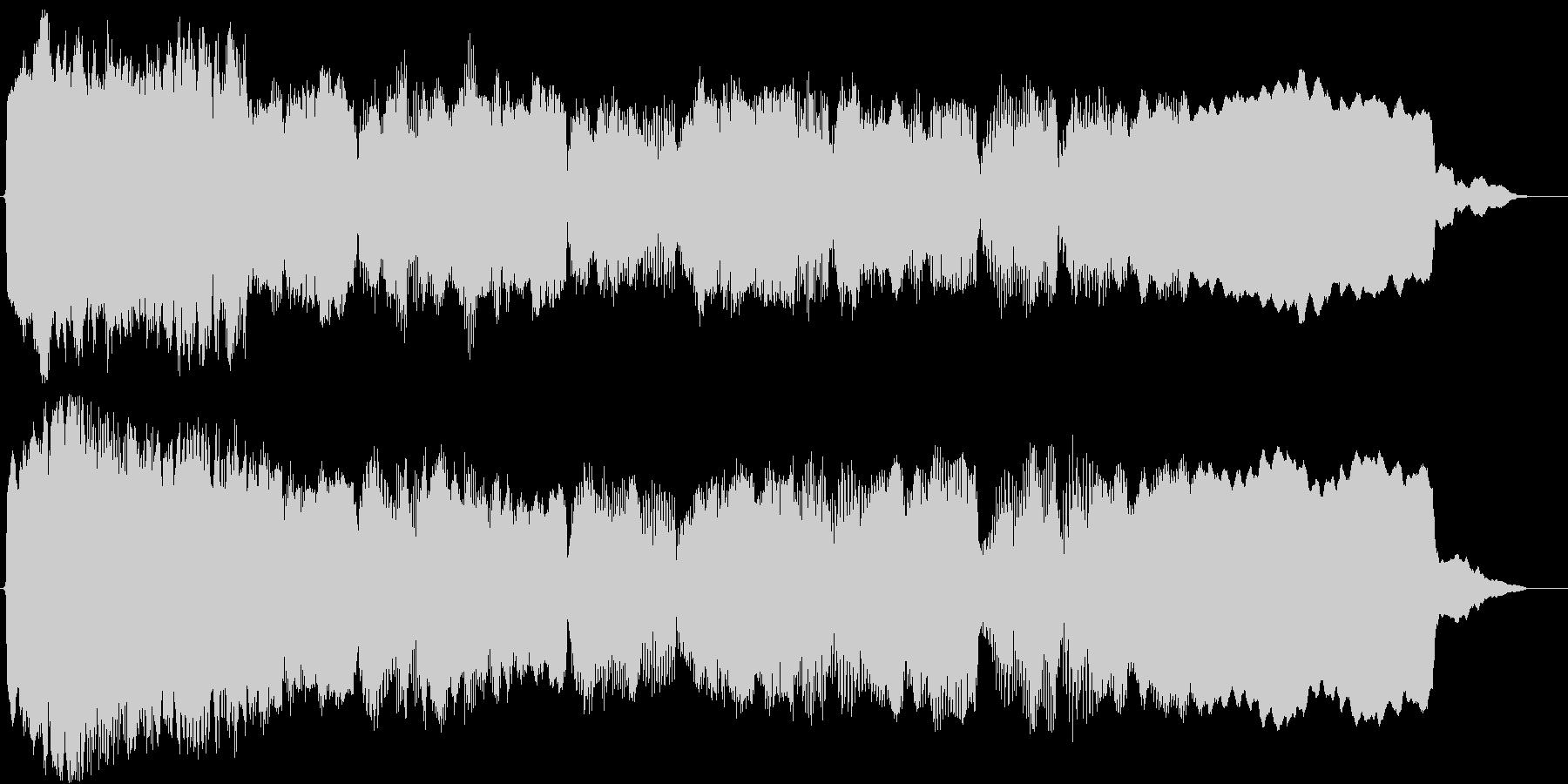 アジアン(ショートBGM)の未再生の波形