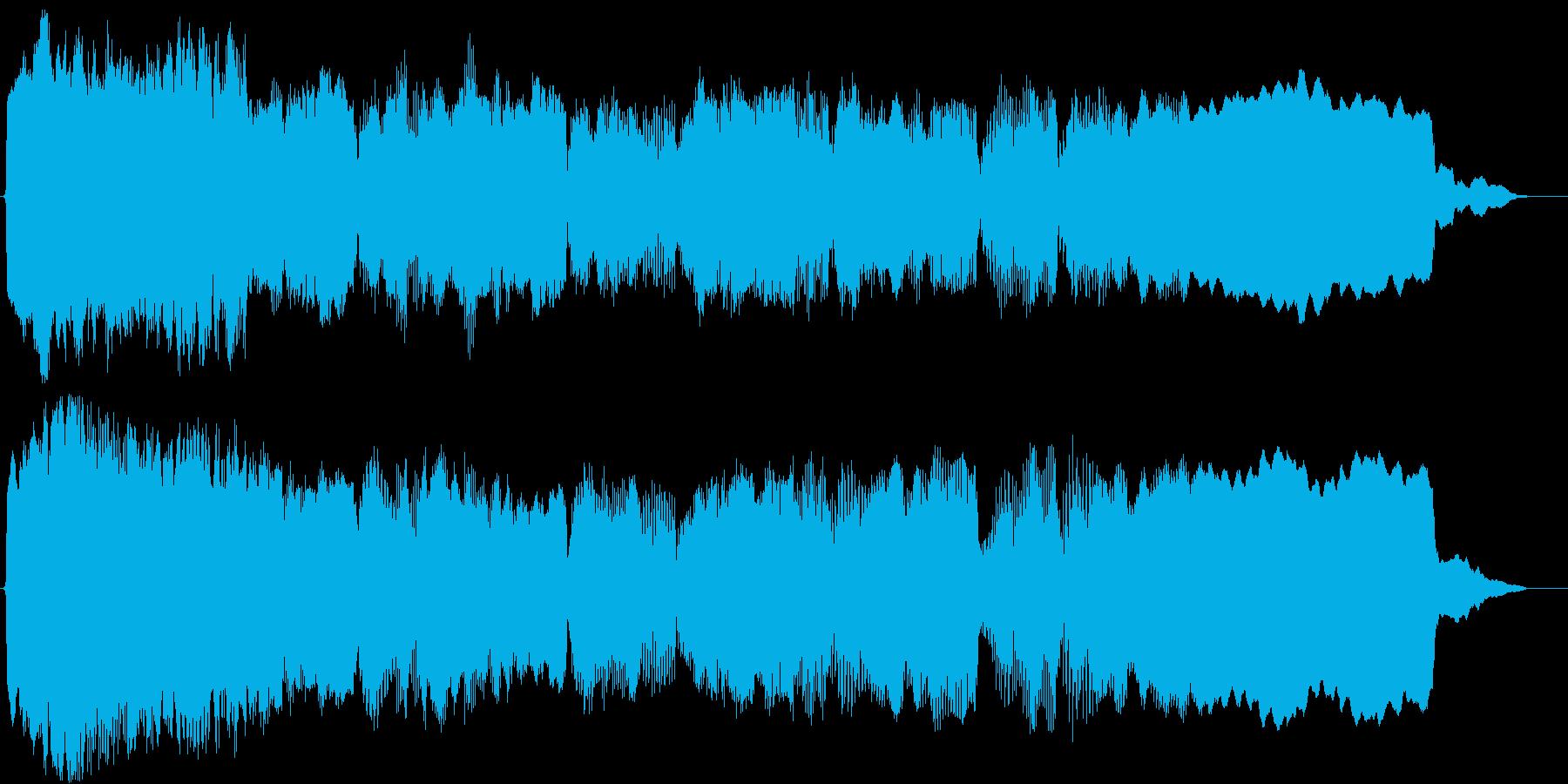 アジアン(ショートBGM)の再生済みの波形