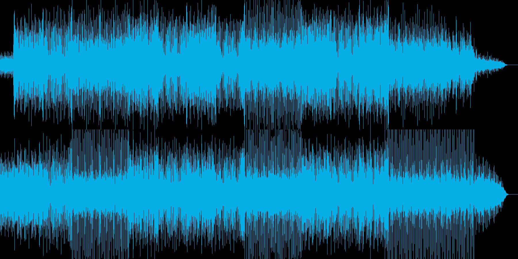 怪しげなリフが印象的で駆け抜けるような曲の再生済みの波形