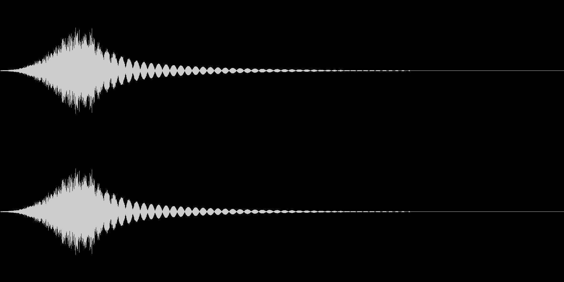 砂利の音(細かめ)の未再生の波形