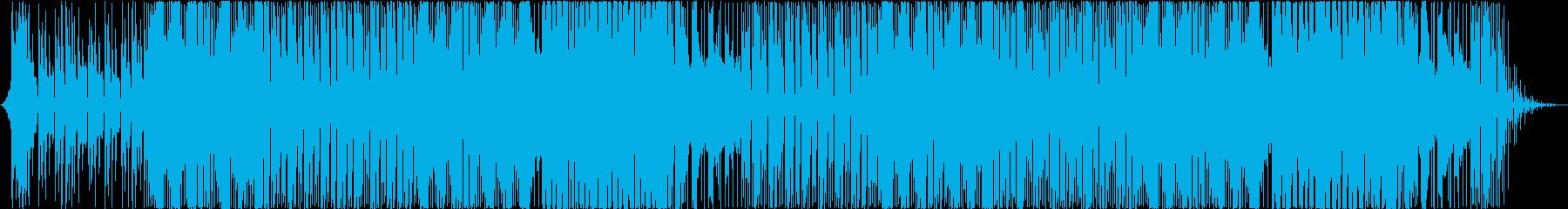 街をイメージしたポップなエレクトロニカの再生済みの波形