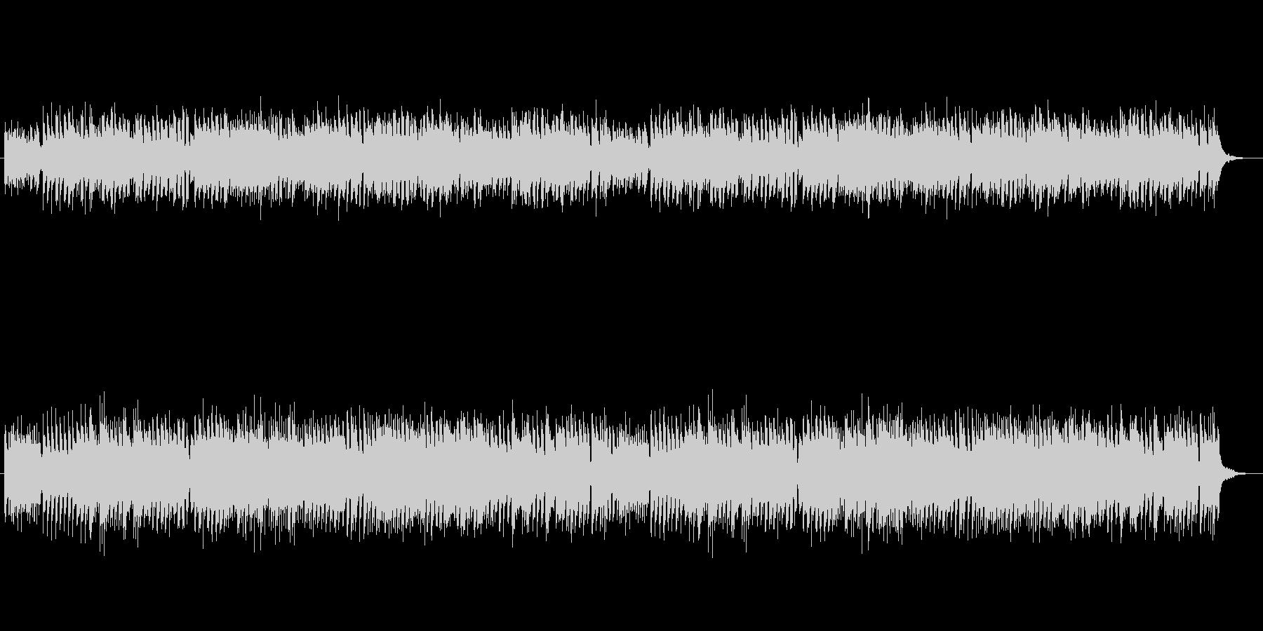 クラシック風、対位法のチェンバロBGMの未再生の波形