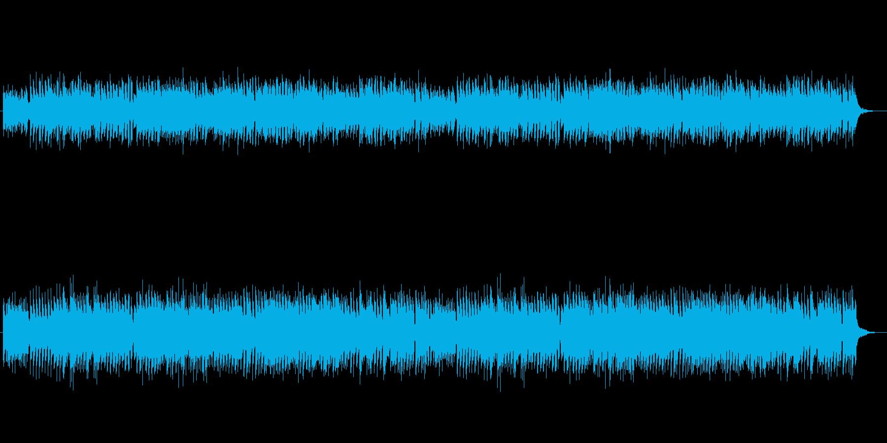 クラシック風、対位法のチェンバロBGMの再生済みの波形