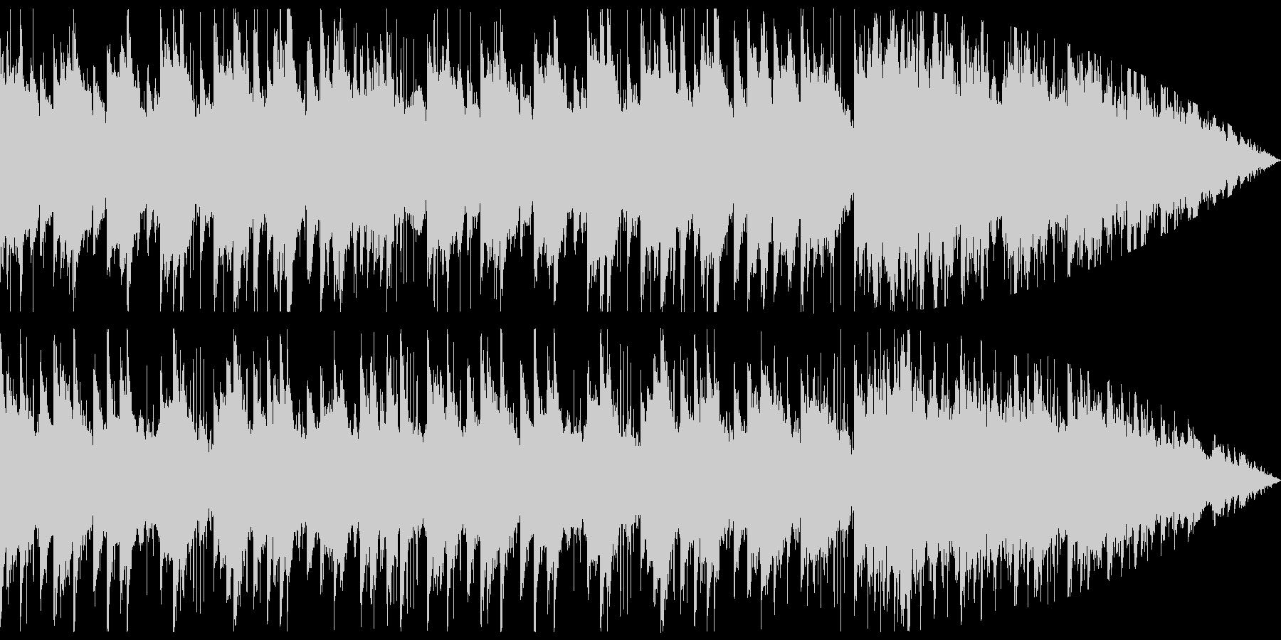 ピアノとストリングスがメインの悲しい曲の未再生の波形