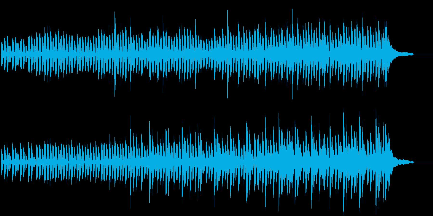 日常的でどこか不思議な場面で使える曲の再生済みの波形