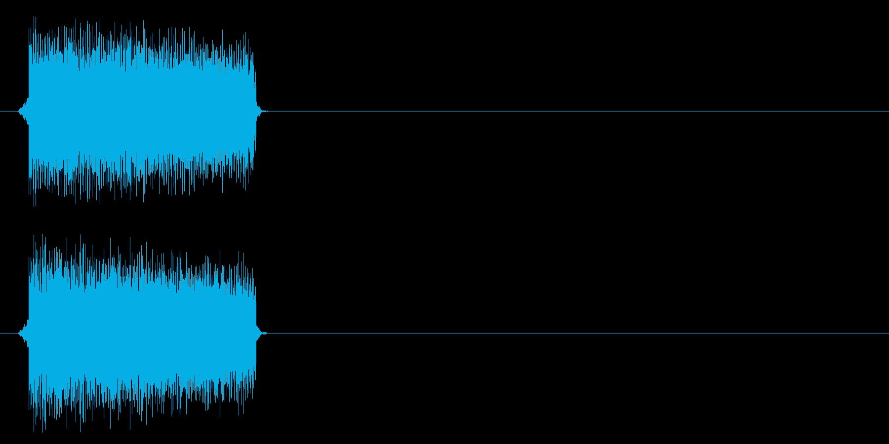 電子音的正解の再生済みの波形