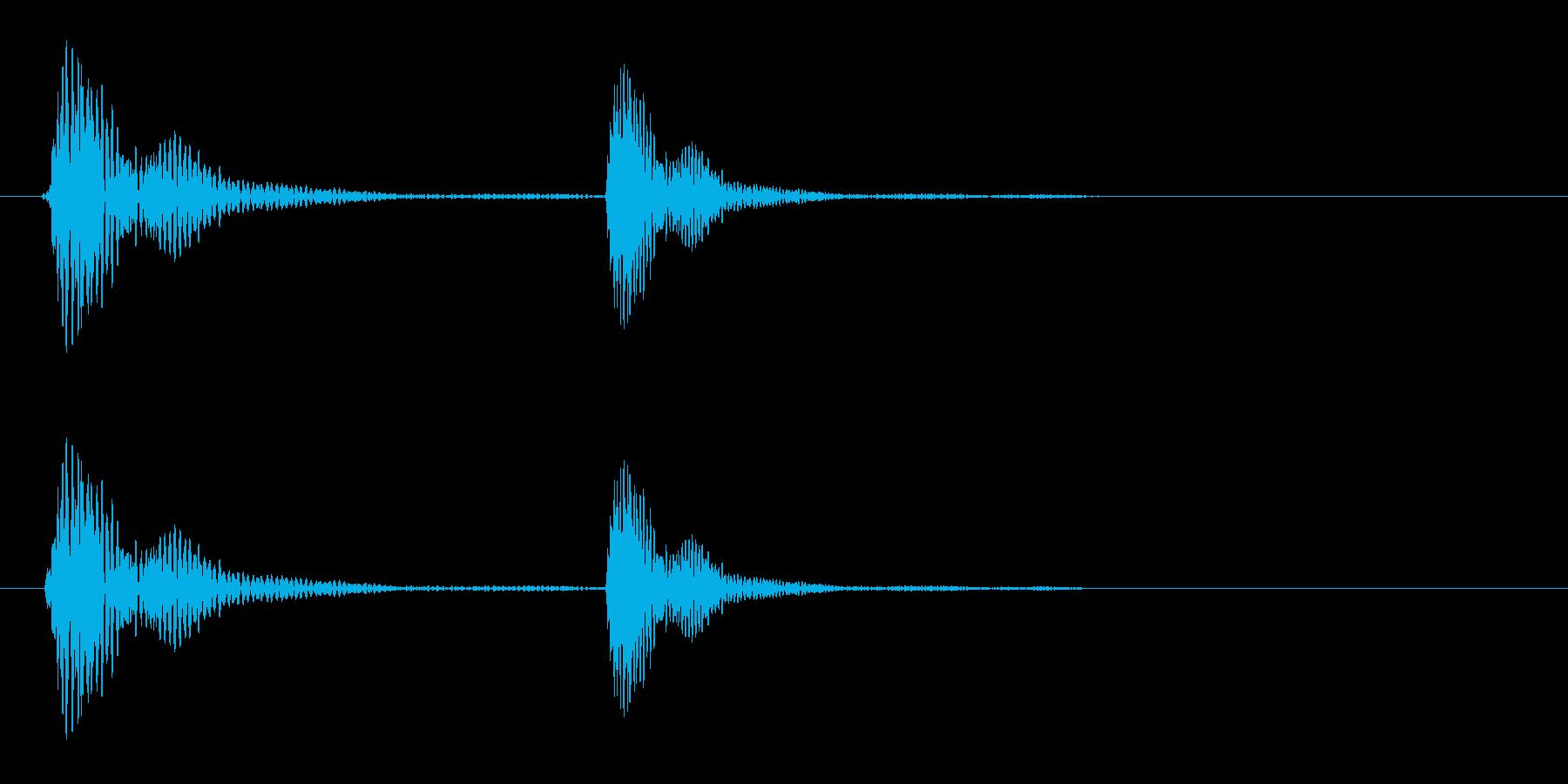 ポケ(コテッなど)短いの再生済みの波形