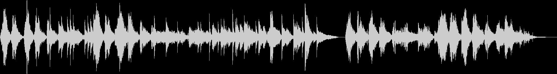 ハードボイルド・バー(トランペット)の未再生の波形