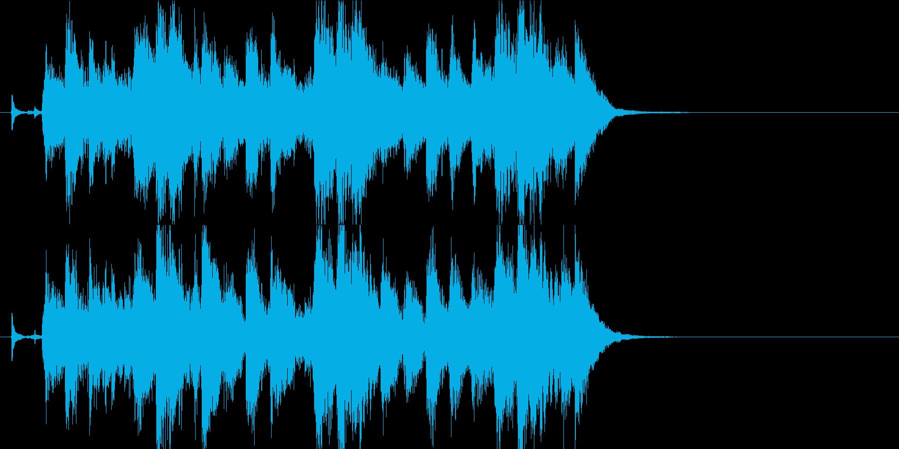 サックスメインのアダルトなジャズジングルの再生済みの波形