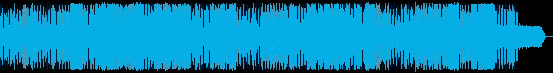 オープニングや戦闘シーンに適したBGMの再生済みの波形