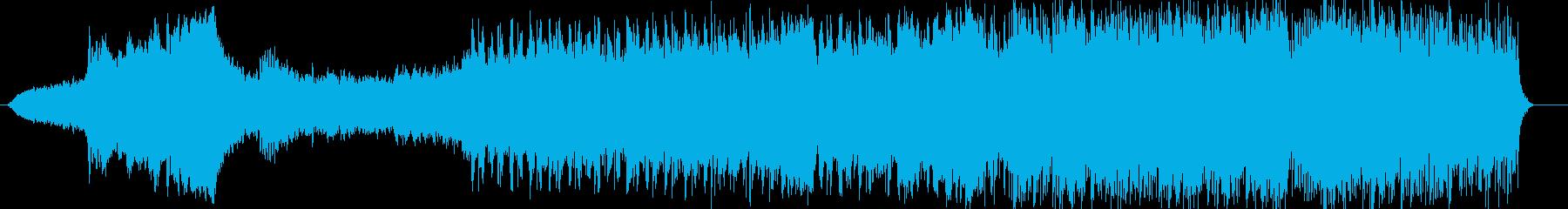 神秘的で可憐なピアノサウンドの再生済みの波形