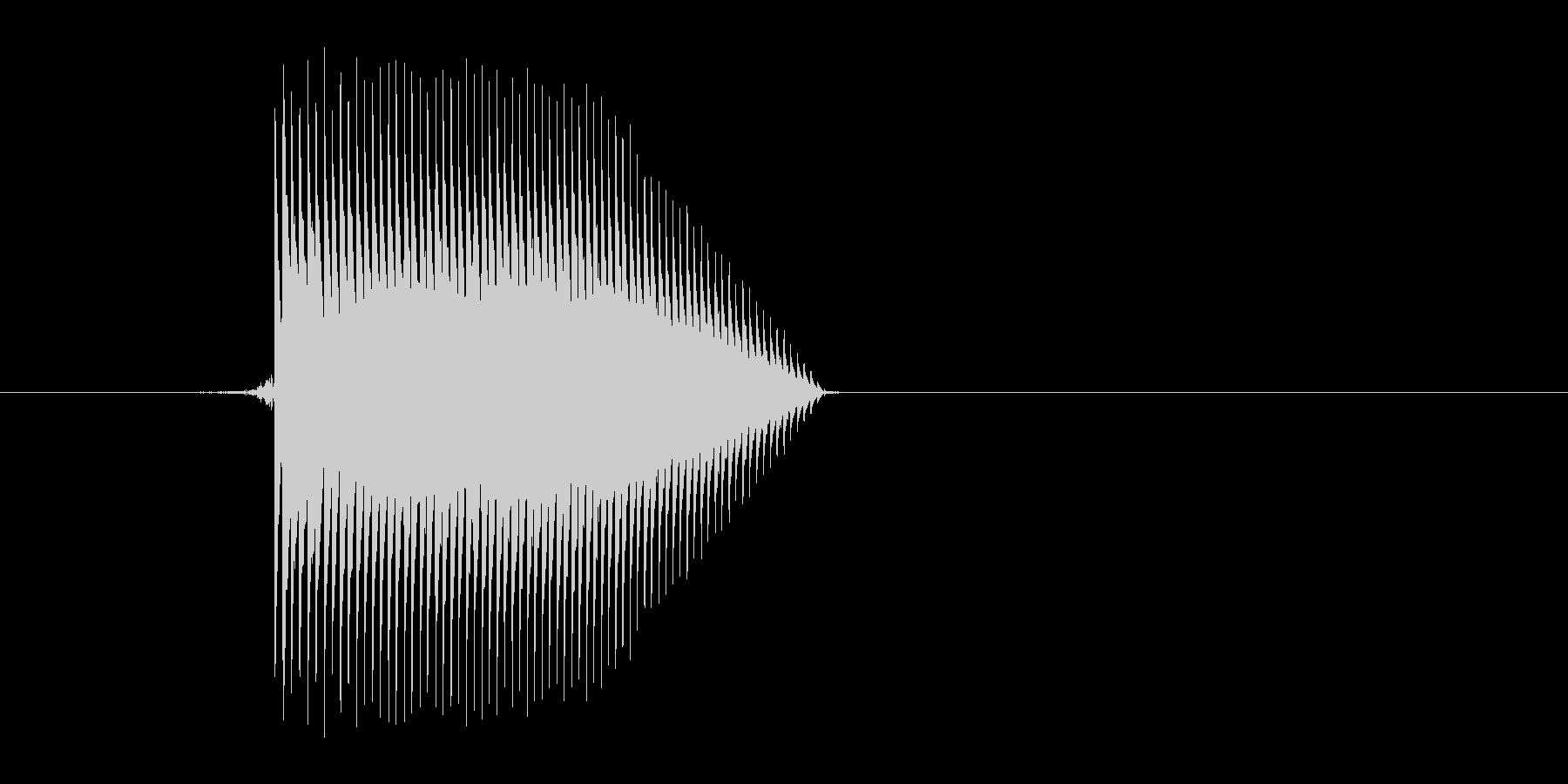 ゲーム(ファミコン風)ジャンプ音_008の未再生の波形