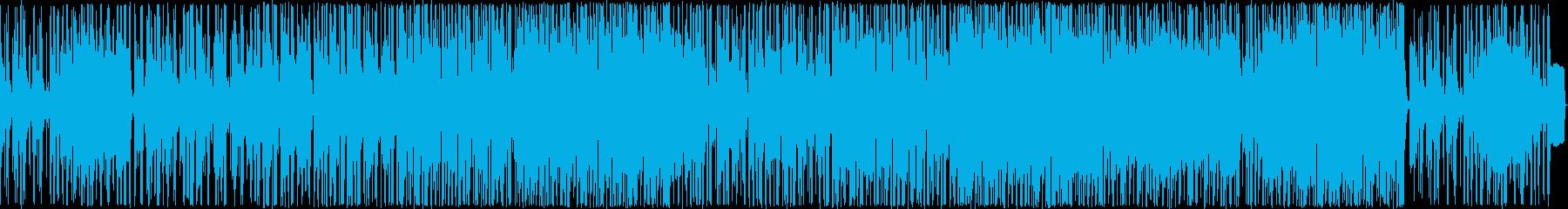 ヒップホップ風のリズムのR&Bバラード7の再生済みの波形