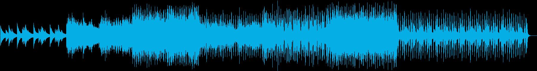 感動系・王道コード進行BGMの再生済みの波形
