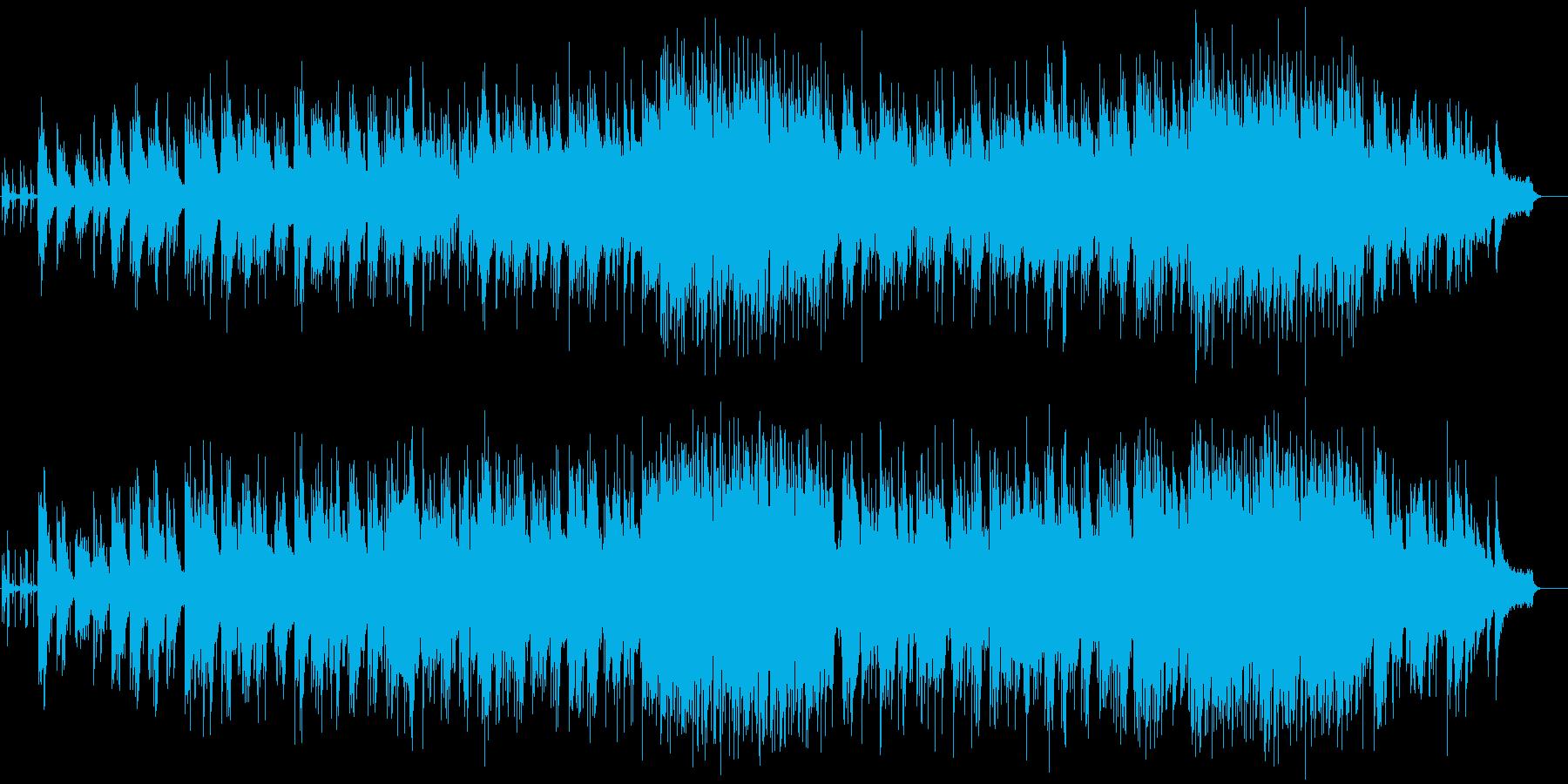 クライマックスを飾るドラマチックバラードの再生済みの波形